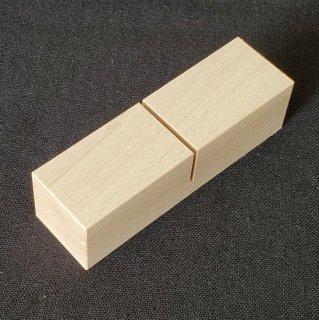 木製プレートスタンド(ミゾ幅2ミリ)