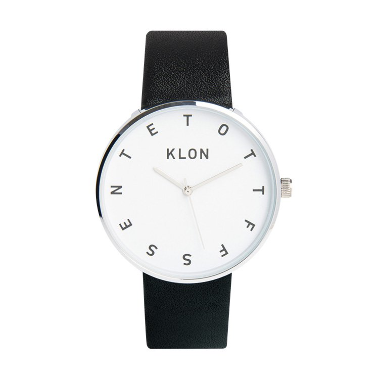 KLON ALPHABET TIME THE WATCH 40mm