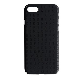 【iPhone 7,8 対応】KLON iPhone CASE SERIAL NUMBER BLACK