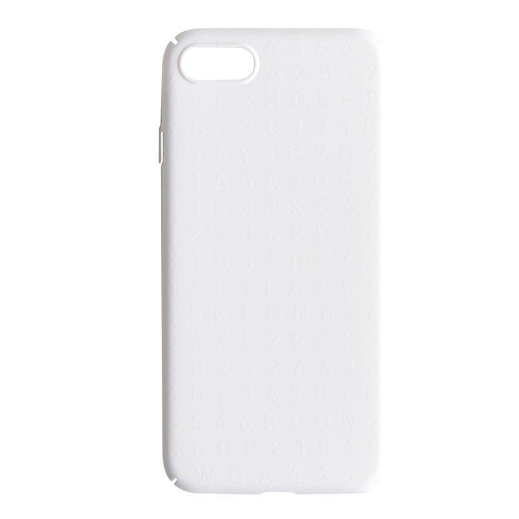 【iPhone 7,8 対応】KLON iPhone CASE SERIAL NUMBER WHITE