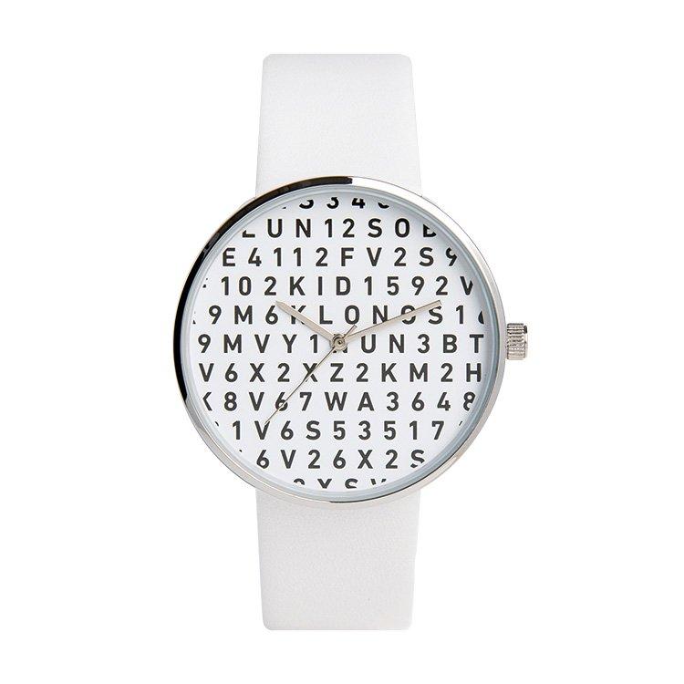 KLON クローン 腕時計  SERIAL NUMBER S シリアルナンバー エス WHITE