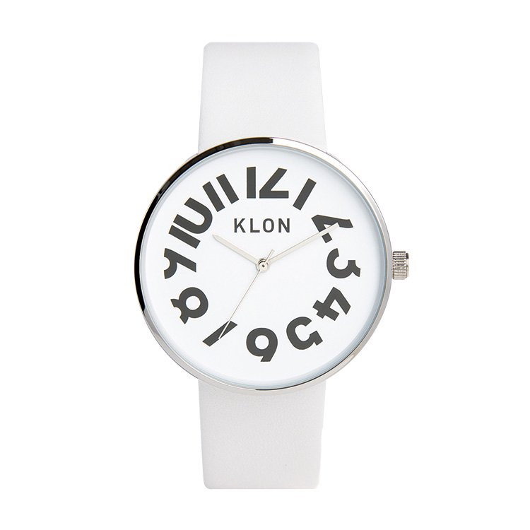 【入荷日未定】KLON HIDE TIME WHITE 40mm