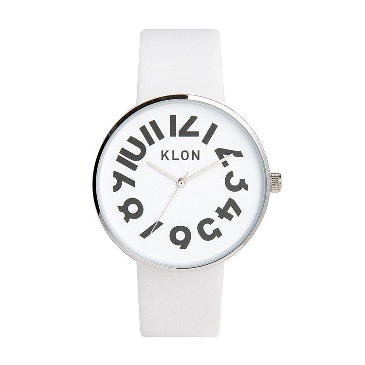 KLON クローン 腕時計  HIDE TIME ハイド・タイム WHITE
