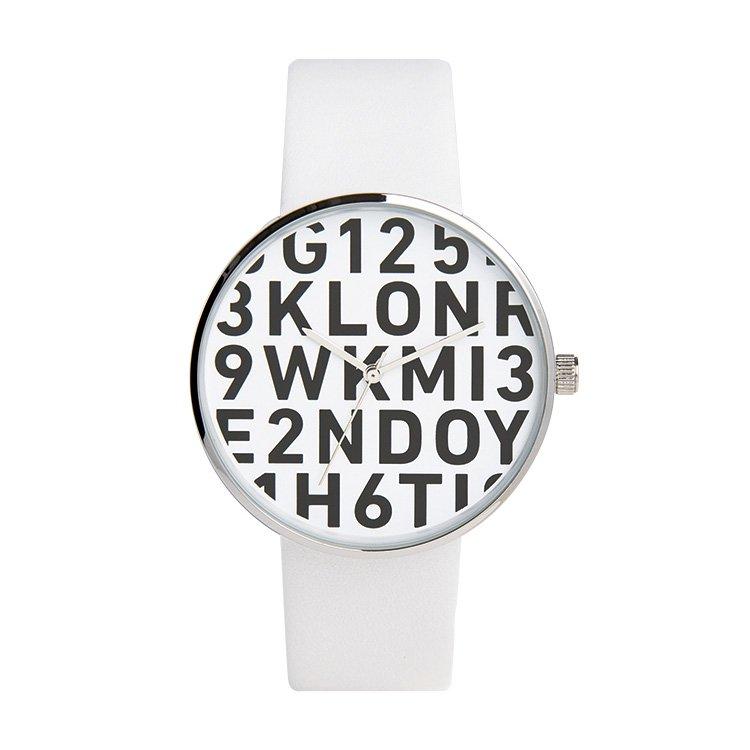 KLON クローン 腕時計 SERIAL NUMBER L シリアルナンバー エル WHITE