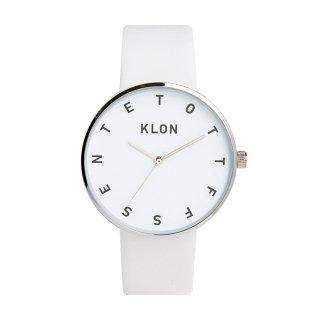 KLON クローン 腕時計 ALPHABET TIME THE WATCH アルファベット・タイム・ザ・ウォッチ WHITE