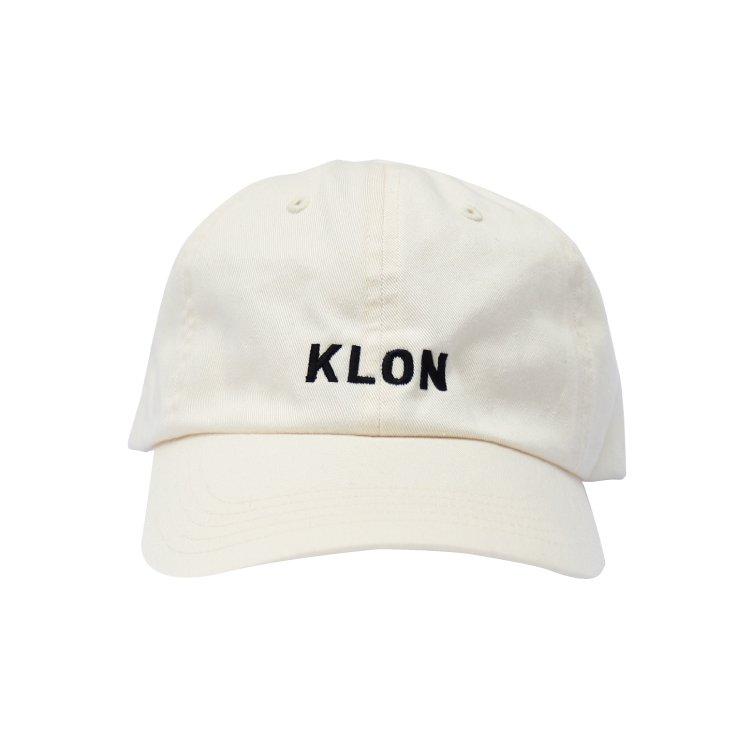 KLON クローン CAP ロゴタイプ WHITE 【送料無料】