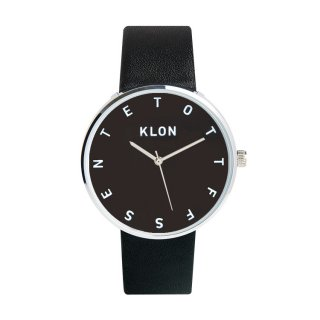 KLON ALPHABET TIME THE WATCH 【BLACK SURFACE】