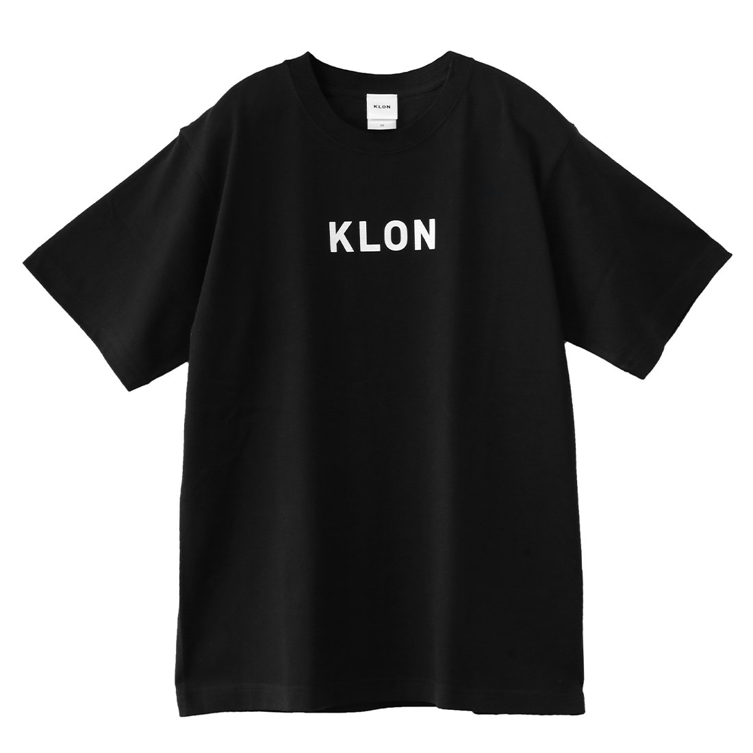KLON Tshirts LOGOTYPE(Small) BLACK