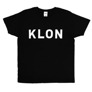 KLON Tshirts LARGE LOGO BLACK