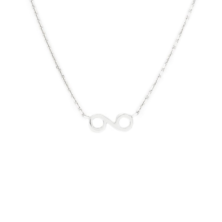 KLON INFINITY NECKLACE -SMALL-