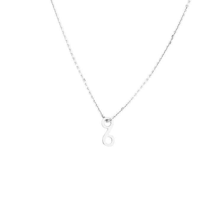 KLON INFINITY NECKLACE VERTICAL -SMALL-