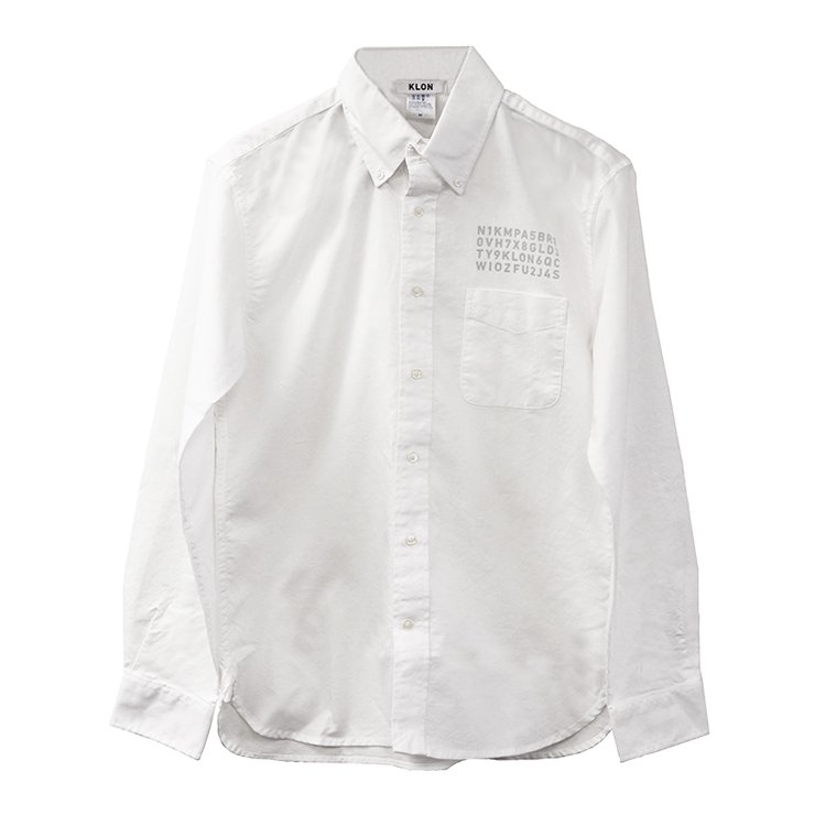 KLON OX SHIRTS WHITE