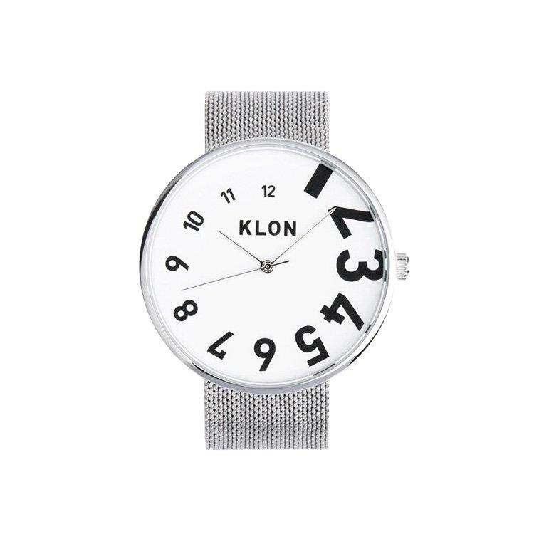 【10%OFF】KLON EDDY TIME -SILVER MESH- 40mm