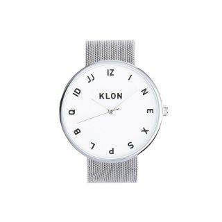 KLON MOCK NUMBER -SILVER MESH-