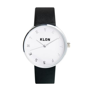 KLON ALPHABET TIME THE WATCH Ver.SILVER 40mm