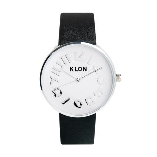 KLON HIDE TIME BLACK Ver.SILVER 40mm