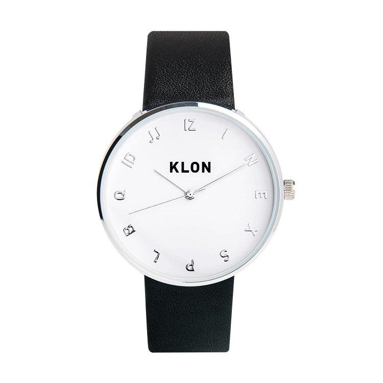 KLON MOCK NUMBER BLACK Ver.SILVER 40mm