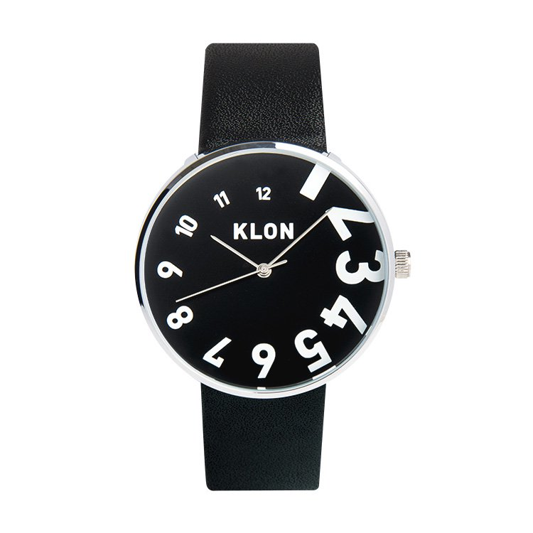 KLON EDDY TIME THE WATCH 【BLACK SURFACE】 40mm
