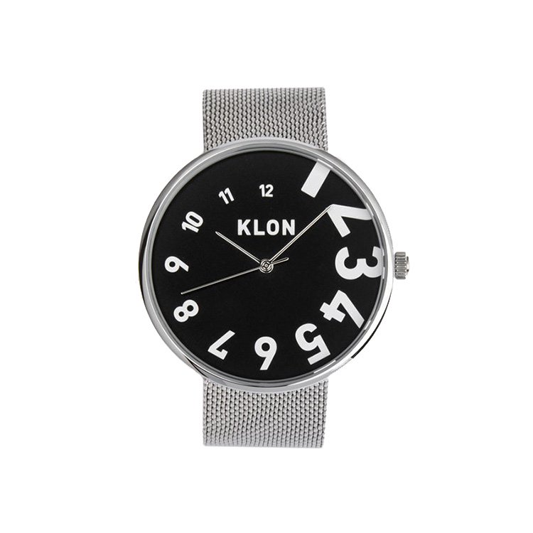 KLON EDDY TIME -SILVER MESH- 【BLACK SURFACE】 40mm