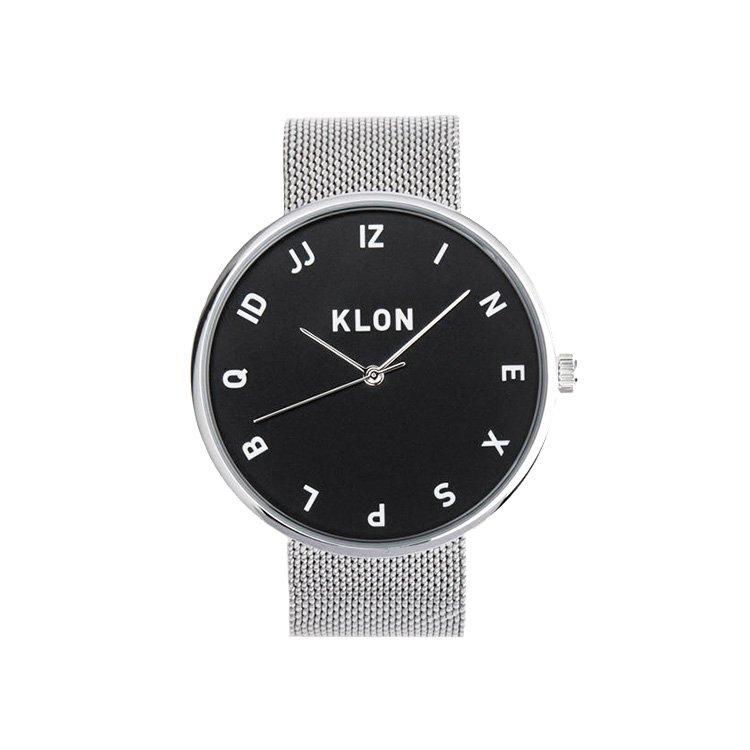 KLON MOCK NUMBER -SILVER MESH- 【BLAC...
