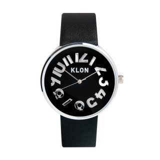 【入荷日未定】KLON HIDE TIME BLACK 【BLACK SURFACE】 Ver.SILVER 40mm