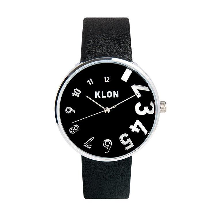 KLON EDDY TIME BLACK 【BLACK SURFACE】 Ver.SILVER 40mm