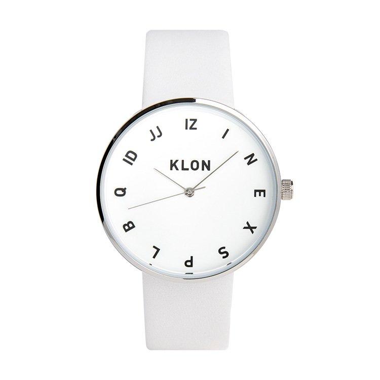 KLON MOCK NUMBER WHITE 40mm