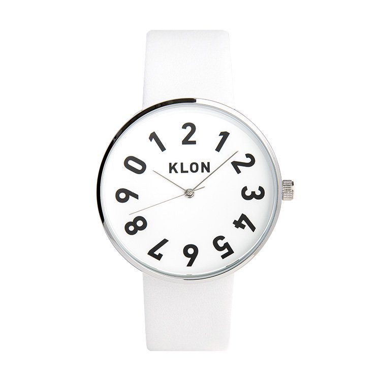 【入荷日未定】KLON ONE DIGIT TIME WHITE 40mm