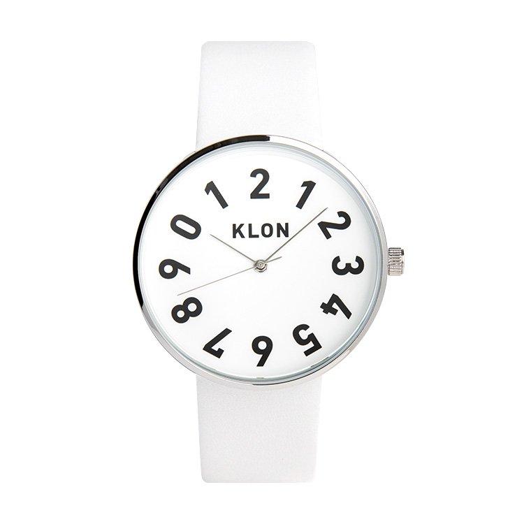 KLON ONE DIGIT TIME WHITE