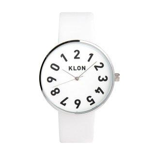KLON ONE DIGIT TIME WHITE 40mm