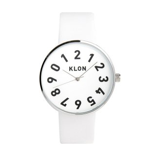 KLON ONE DIGIT TIME WHITE 40mm
