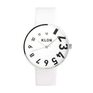 KLON EDDY TIME THE WATCH WHITE 40mm
