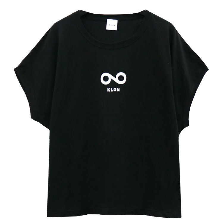 KLON SLEEVE-LESS WIDE Tshirts INFINITY BLACK