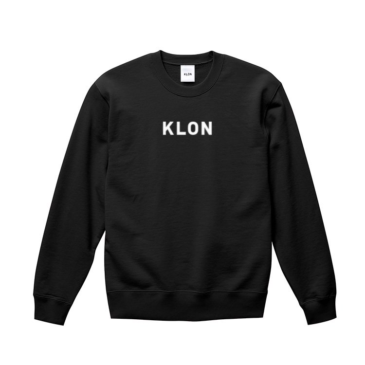 KLON SWEAT LOGOTYPE BLACK