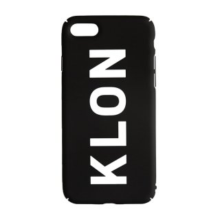 【iPhone 7,8,X,Xs 対応】KLON iPhone CASE LOGOTYPE L BLACK