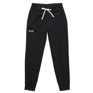 【入荷日未定】KLON SWEAT PANTS BLACK