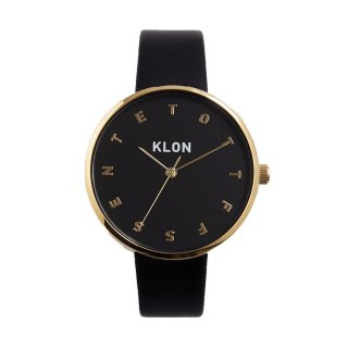 KLON ALPHABET TIME BLACK Ver.GOLD 38mm
