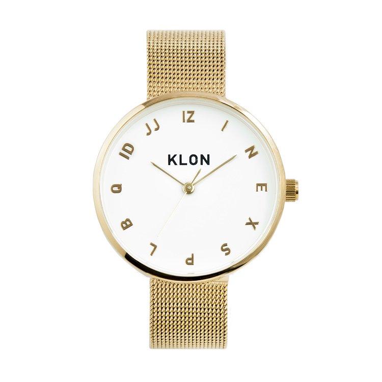 KLON MOCK NUMBER -GOLD MESH- 33mm