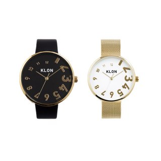 KLON EDDY TIME GOLD PAIR WATCH