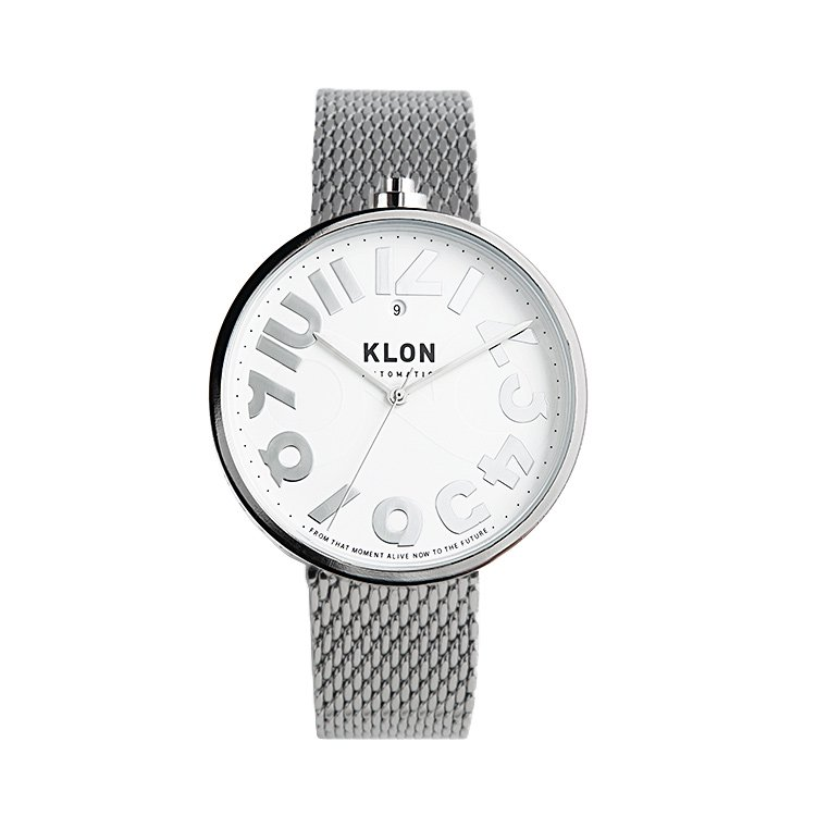 KLON AUTOMATIC WATCH -HIDE TIME- 43mm