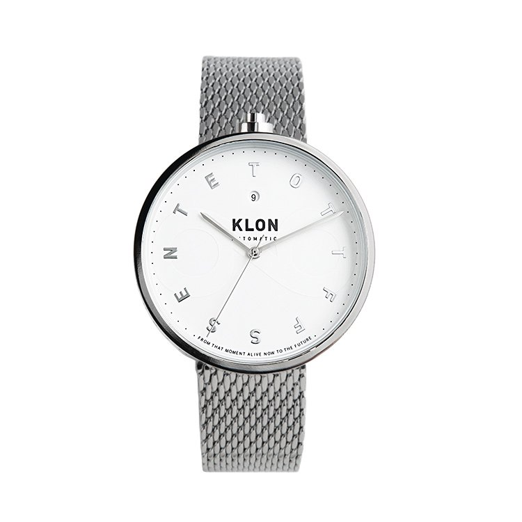 KLON AUTOMATIC WATCH -ALPHABET TIME-