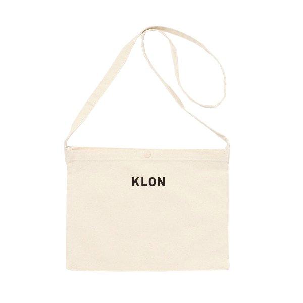 【入荷日未定】KLON SACOCHE WHITE