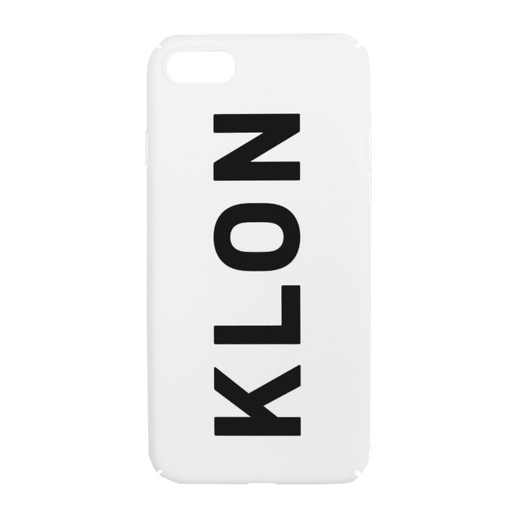 【iPhone 7,8,X,Xs 対応】KLON iPhone CASE LOGOTYPE L WHITE