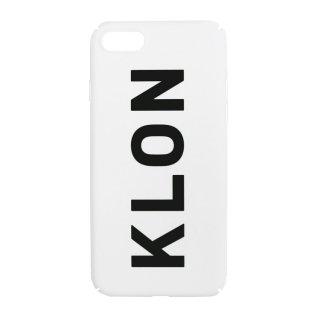 【入荷日未定】【iPhone 7,8 対応】KLON iPhone CASE LOGOTYPE L WHITE