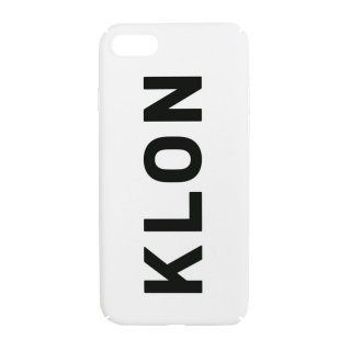 【iPhone 7,8 対応】KLON iPhone CASE LOGOTYPE L WHITE