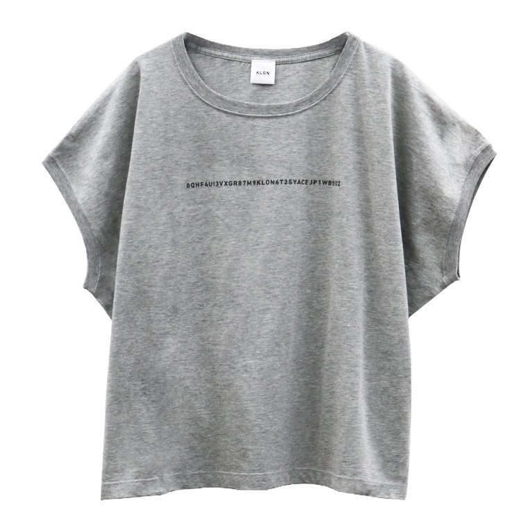 KLON SLEEVE-LESS WIDE Tshirts SERIAL NUMBER GRAY