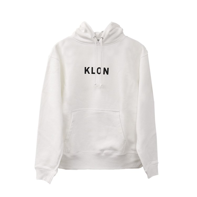 【入荷日未定】KLON PULLOVER PARKA WHITE