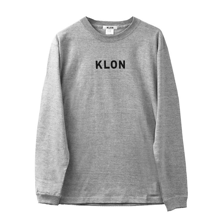 KLON LONG T GRAY(LOGO BLACK)