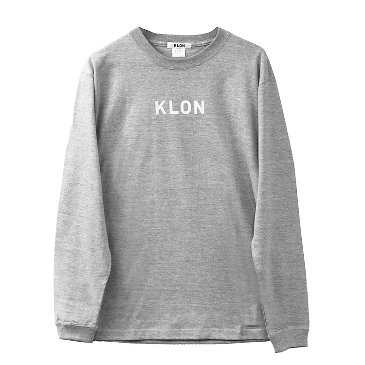 KLON LONG T GRAY(LOGO WHITE)