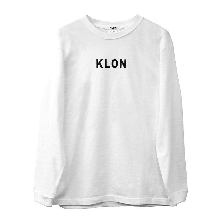【入荷日未定】KLON LONG T WHITE